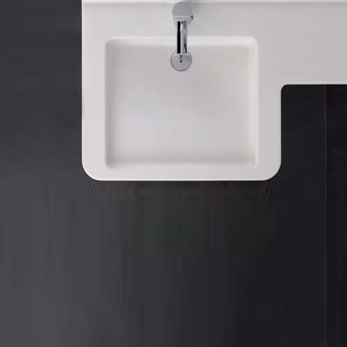 keramag renova nr 1 comfort pro waschtisch asymmetrisch 470085016 reuter. Black Bedroom Furniture Sets. Home Design Ideas