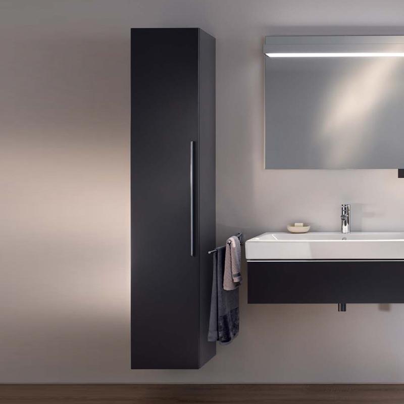keramag icon hochschrank front lava matt korpus lava matt 841001000 reuter. Black Bedroom Furniture Sets. Home Design Ideas