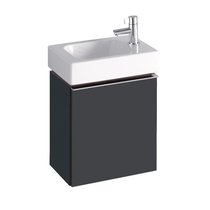 Komplett Neu Keramag iCon xs Handwaschbecken-Unterschrank mit 1 Tür Front und  VB98