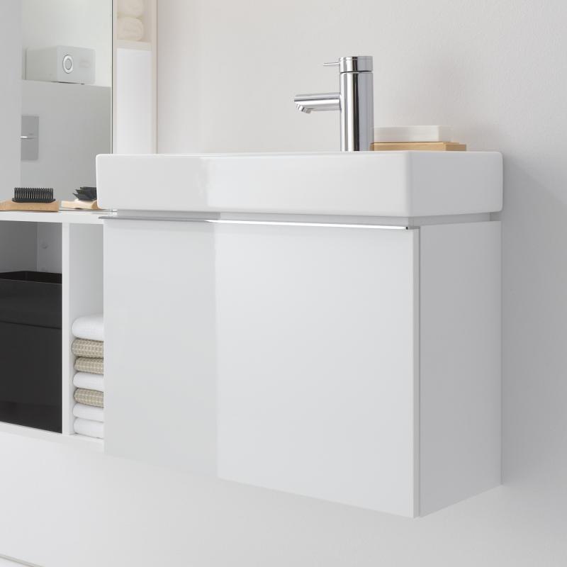 Waschtischunterschrank  Keramag iCon xs Handwaschbecken-Unterschrank mit 1 Auszug Front ...