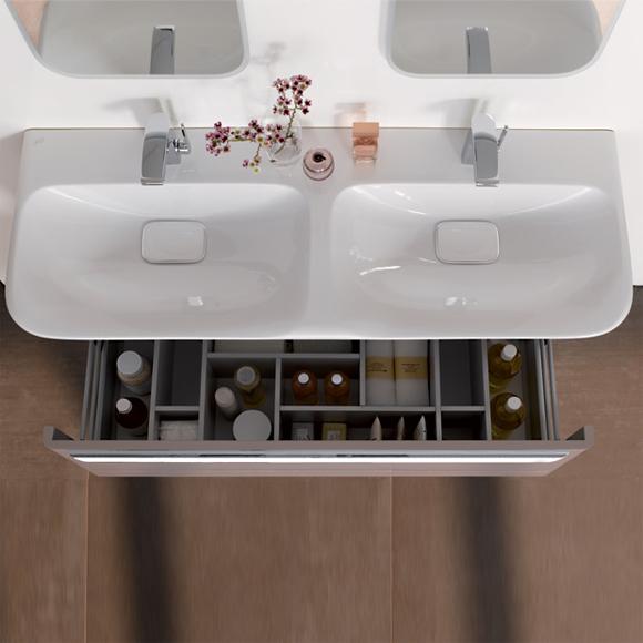 keramag myday doppelwaschtisch wei 135430000 reuter. Black Bedroom Furniture Sets. Home Design Ideas
