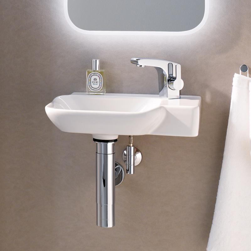 keramag myday handwaschbecken wei 125540000 reuter. Black Bedroom Furniture Sets. Home Design Ideas