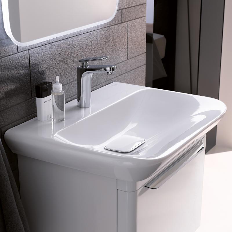 keramag myday waschtisch wei mit keratect 125465600 reuter. Black Bedroom Furniture Sets. Home Design Ideas