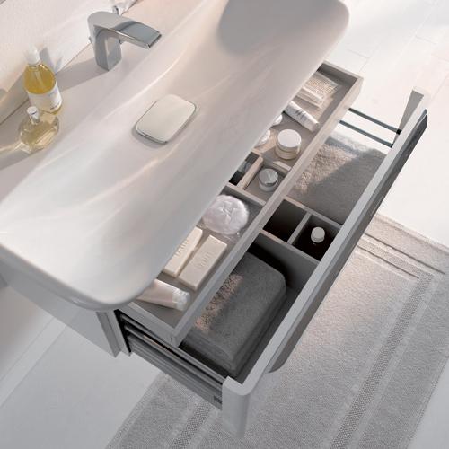 keramag myday waschtisch wei 125480000 reuter. Black Bedroom Furniture Sets. Home Design Ideas