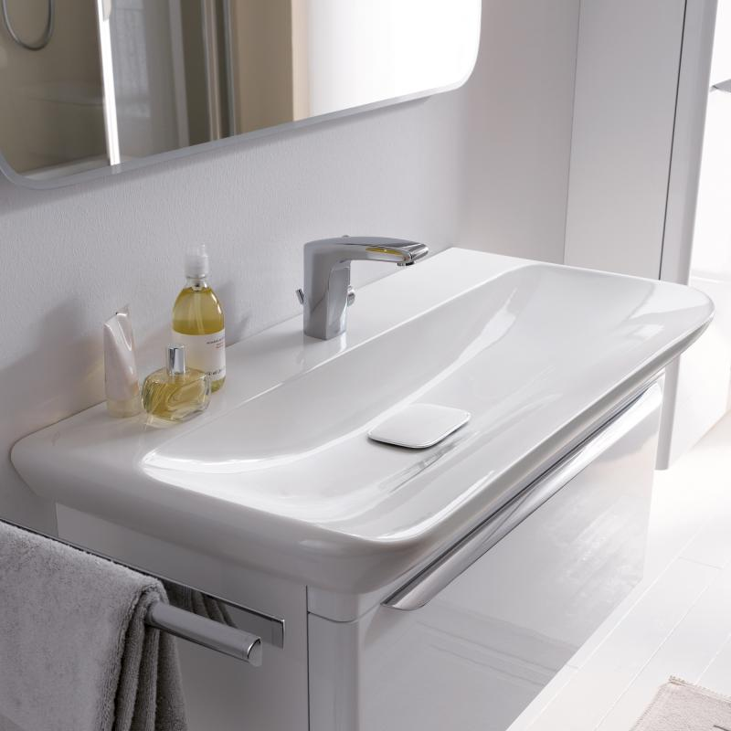 keramag myday waschtisch wei mit keratect 125480600 reuter. Black Bedroom Furniture Sets. Home Design Ideas