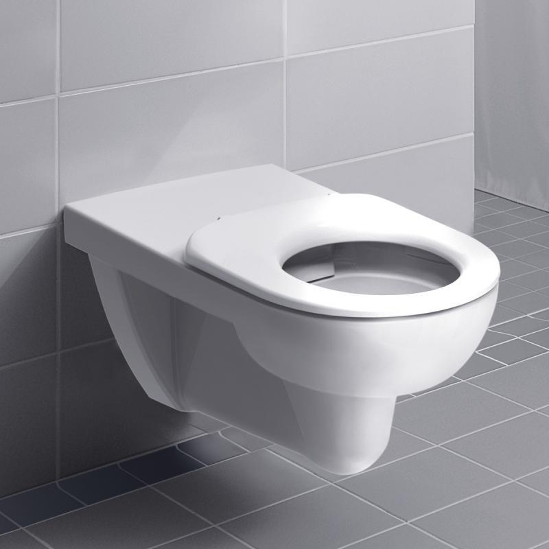 keramag renova nr 1 comfort wand tiefsp l wc ohne sp lrand wei mit keratect 208560600 reuter. Black Bedroom Furniture Sets. Home Design Ideas