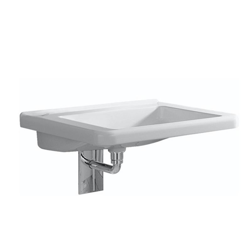 keramag renova nr 1 comfort waschtisch wei mit keratect 128661600 reuter. Black Bedroom Furniture Sets. Home Design Ideas