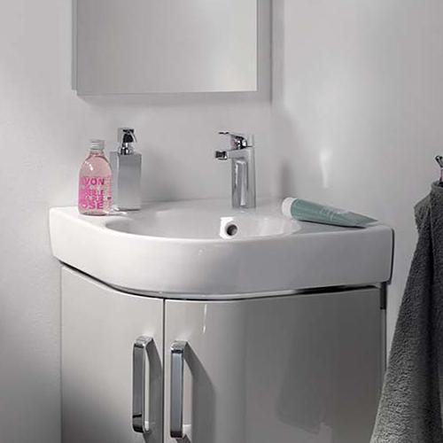 keramag renova nr 1 comprimo eckhandwaschbecken wei 226150000 reuter. Black Bedroom Furniture Sets. Home Design Ideas