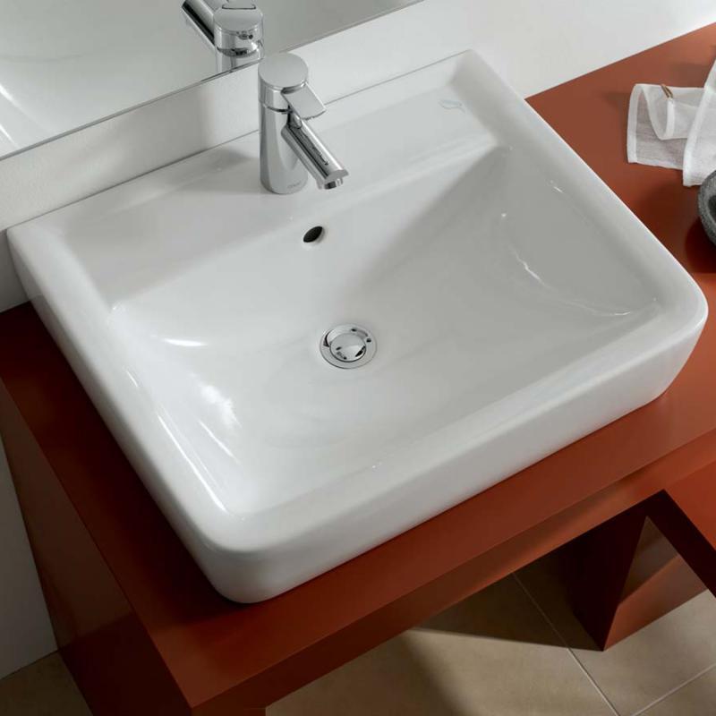 keramag renova nr 1 plan aufsatzwaschtisch wei 225160000 reuter. Black Bedroom Furniture Sets. Home Design Ideas