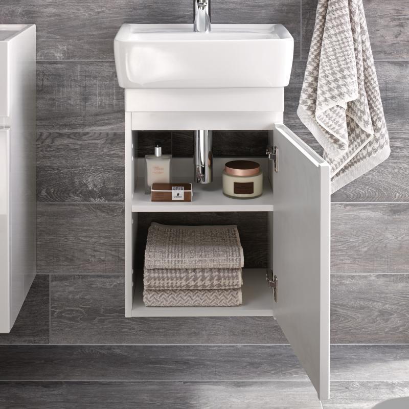 Keramag Renova Nr 1 Plan Handwaschbecken Unterschrank Front Und