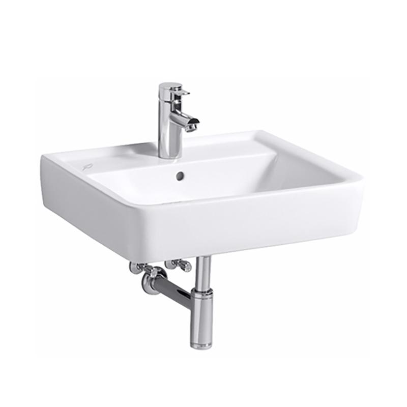 Keramag Renova Nr 1 Plan Waschtisch Weiß Mit 1 Hahnloch Mit