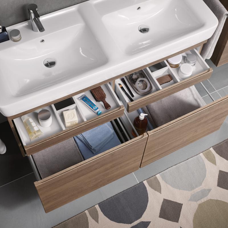 keramag renova nr 1 plan waschtischunterschrank front und korpus eiche natur dunkel 869133000. Black Bedroom Furniture Sets. Home Design Ideas