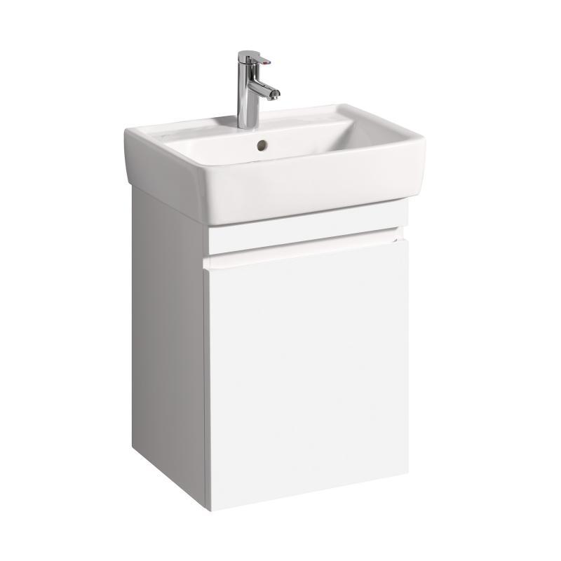 keramag renova nr 1 plan waschtischunterschrank mit 1 auszug front und korpus wei hochglanz. Black Bedroom Furniture Sets. Home Design Ideas