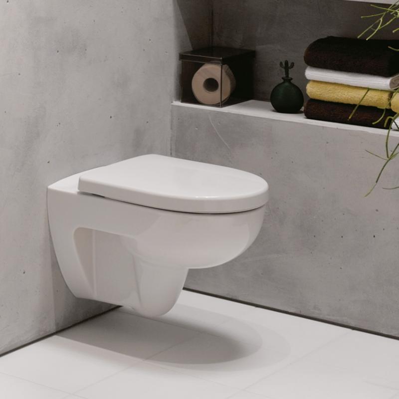 keramag renova nr 1 tiefsp l wc 4 5 6 l wandh ngend wei 203040000 reuter. Black Bedroom Furniture Sets. Home Design Ideas