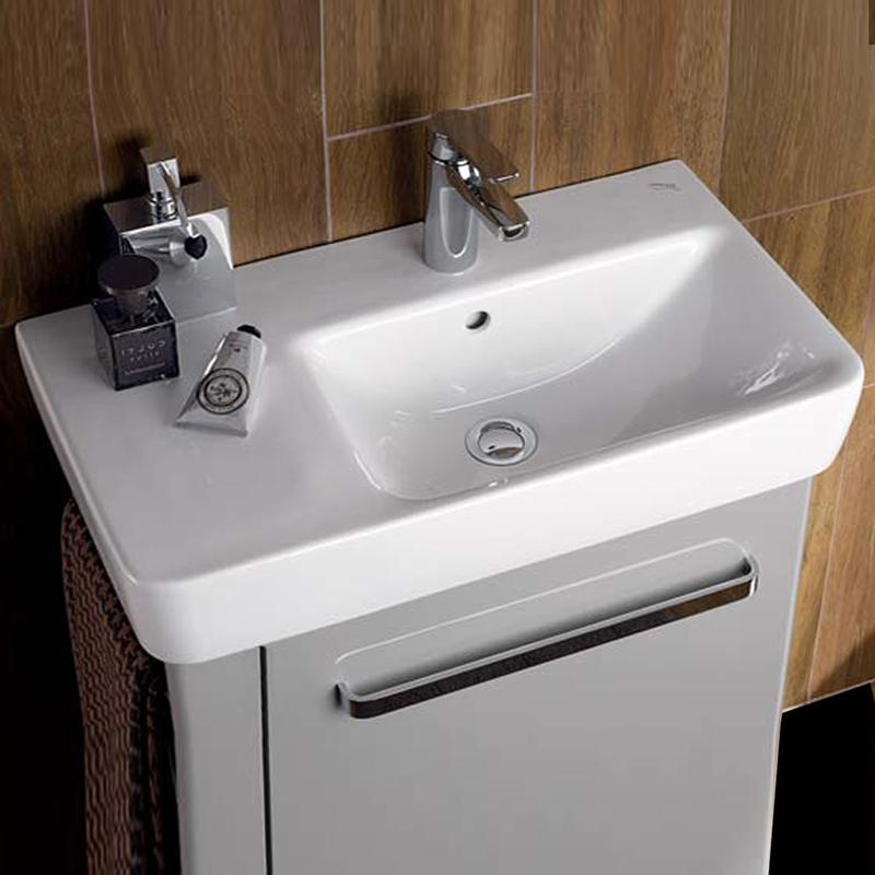 keramag renova nr 1 comprimo waschtisch wei 226265000 reuter. Black Bedroom Furniture Sets. Home Design Ideas