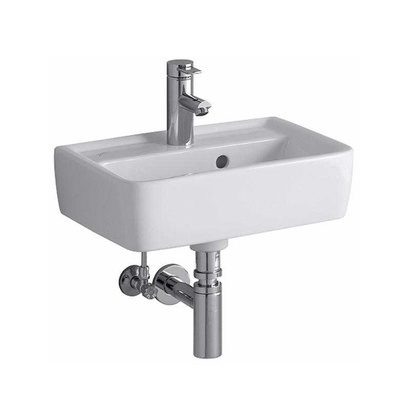 Keramag Renova Nr 1 Plan Handwaschbecken Weiß Mit Hahnloch Mit