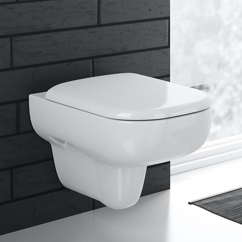 keramag smyle wand tiefsp l wc ohne sp lrand wei mit keratect 205560600 reuter. Black Bedroom Furniture Sets. Home Design Ideas
