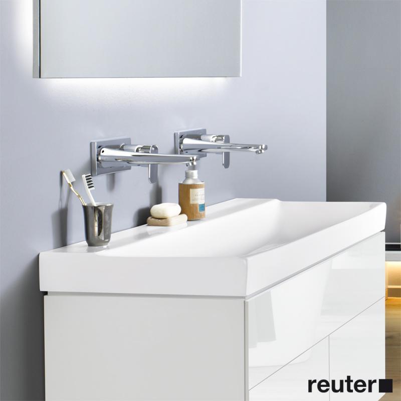 keramag xeno waschtisch wei ohne hahnloch 127023000 reuter. Black Bedroom Furniture Sets. Home Design Ideas