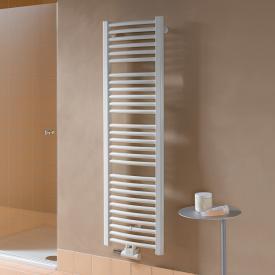 Kermi Basic-50 R Badheizkörper für Warmwasser- oder Mischbetrieb mit gebogenen Rohren weiß, 399 Watt