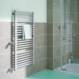 Kermi Basic-D Badheizkörper für Warmwasser- oder Mischbetrieb glanzsilber, 767 Watt