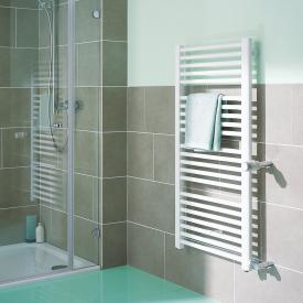 Kermi Basic-D Badheizkörper für Warmwasser- oder Mischbetrieb weiß, 880 Watt, Anschluss rechts