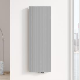Kermi Decor-Arte Line Badheizkörper für Warmwasserbetrieb aluminium metallic, 2204 Watt