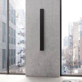 Kermi Decor-Arte Plan Badheizkörper einzeln für Warmwasserbetrieb anthrazit metallic, 671 Watt
