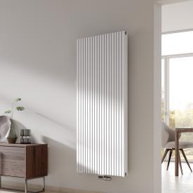 Kermi Decor-Arte Pure Badheizkörper vertikal für Warmwasserbetrieb weiß, 871 Watt