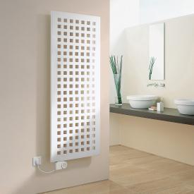 Kermi Karotherm-E Heizkörper für rein elektrischen Betrieb weiß, B: 49,9 H: 109,9 cm, 600 Watt, Elektro-Set FKS L