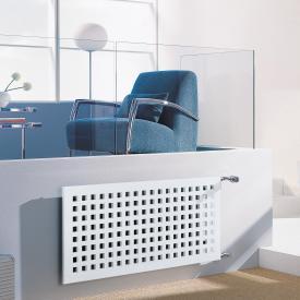 Kermi Karotherm Heizkörper mit seitlichem Anschluss weiß, B: 129,8 H: 49,9 cm, 722 Watt