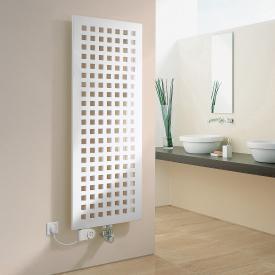 Kermi Karotherm Heizkörper mit Elektro-Zusatzbetrieb weiß, B: 49,9 H: 109,9 cm, 572 Watt, Elektro-Set FKS L