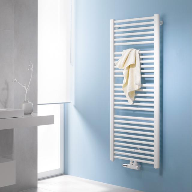 Kermi Basic-50 Badheizkörper für Warmwasser- oder Mischbetrieb weiß, 993 Watt