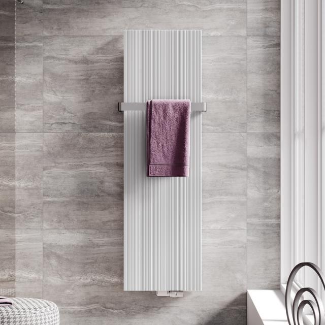 Kermi Decor-Arte Line Badheizkörper für Warmwasserbetrieb weiß, 1408 Watt
