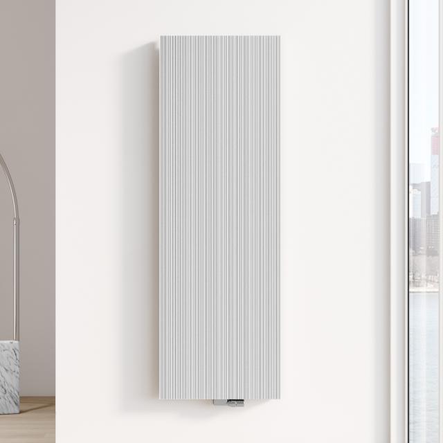 Kermi Decor-Arte Line Badheizkörper für Warmwasserbetrieb weiß, 2204 Watt