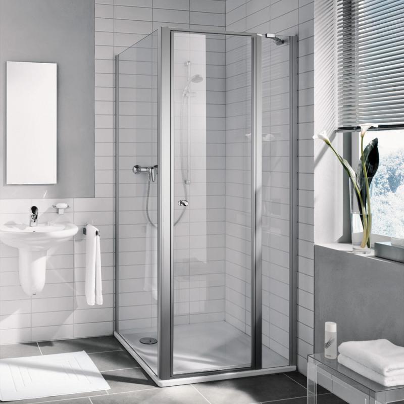 kermi ibiza 2000 schwingt r mit festfeld esg transparent silber mattglanz i2str090181ak reuter. Black Bedroom Furniture Sets. Home Design Ideas