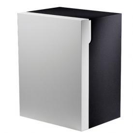 Keuco Edition 300 Unterschrank mit 1 Tür Front anthrazit/Korpus weiß