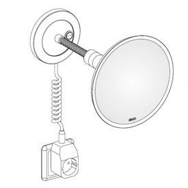 Keuco Elegance Kosmetikspiegel mit Spiralkabel