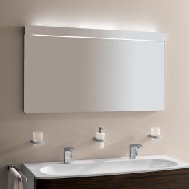Keuco Elegance Lichtspiegel Leuchtmittel oben weiss/Leuchtmittel unten weiss