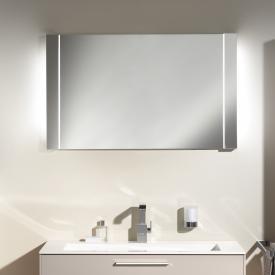 Keuco Elegance Lichtspiegel Leuchtmittel außen weiss/Leuchtmittel innen weiss