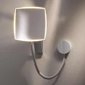 Keuco iLook_move Kosmetikspiegel, Unterputz-Netzteil, Lichtfarbe einstellbar
