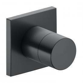 Keuco IXMO 3-Wege Ab- / Umstellventil, Unterputz schwarz chrom gebürstet