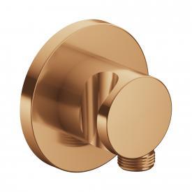 Keuco IXMO Schlauchanschluss mit Brausehalter bronze gebürstet