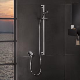 Keuco IXMO SOLO Unterputz Duschsystem, mit Thermostat und Brause-Set, rund