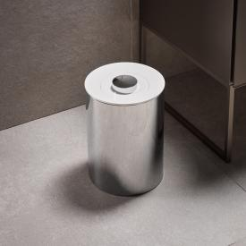 Keuco Plan Abfallbehälter edelstahl poliert/weiß
