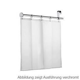 Keuco Plan Care Duschspritzschutz mit Duschvorhang und 5 Ösen silber eloxiert/chrom