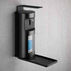 Keuco Plan Flüssigseifen- und Desinfektionsmittelspender schwarz matt