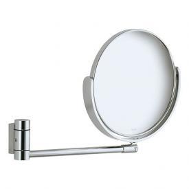 Keuco Plan Kosmetikspiegel aluminium silber-eloxiert