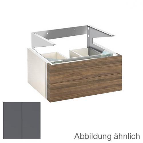 keuco edition 300 waschtischunterbau mit 2 ausz gen front anthrazit korpus anthrazit. Black Bedroom Furniture Sets. Home Design Ideas