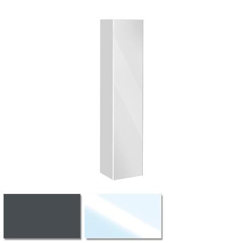 keuco royal reflex hochschrank mit 1 t r und 1 w schekorb front glas verspiegelt korpus. Black Bedroom Furniture Sets. Home Design Ideas