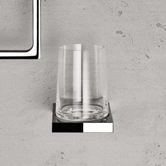 Keuco Edition 11 Wandhalter mit Glas chrom